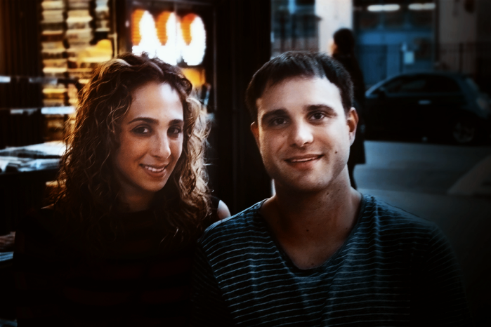 Sarah Belaidi (left) and Mike LaGrotta (right) at Spring Natural Kitchen