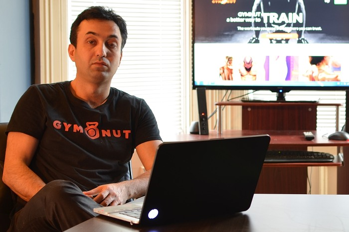Cyrus Nambakhsh, co-founder and CEO of Gymnut (Photo Credit: Gymnut)