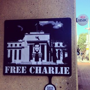 Free Charlie by cryptograffiti (Photo Credit: cryptograffiti)